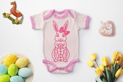 Easter Bunny SVG, Easter Decorations, Easter Clipart SVG Product Image 2