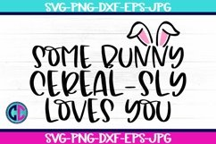Some Bunny Cereal-sly Loves you SVG Product Image 1