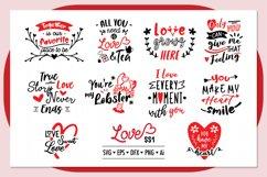Love ss1 SVG Bundle , Valentine SVG Bundle Product Image 1