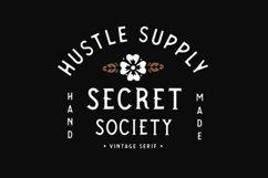 SECRET SOCIETY - A Vintage Serif Product Image 2