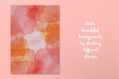 100 Watercolor Stamp Brushes for Procreate and PS Product Image 4
