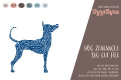 Dog SVG / Mandala SVG / Zentangle / Boho SVG Product Image 1