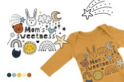 Baby cute font Product Image 5