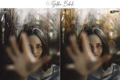 60 Golden Bokeh lights Effect Photo Overlay, Wedding Overlay Product Image 3