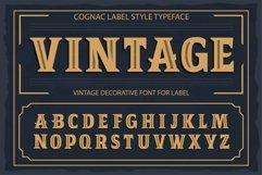 Vintage OTF vintage label font. Uppercase only! Product Image 1