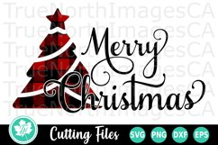 Christmas SVG   Christmas Tree SVG   Merry Christmas SVG Product Image 1