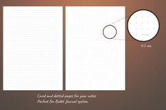 Undated monthly weekly daily planner sheets. Printable A5 Product Image 2