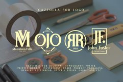 Web Font Caztolla Product Image 4