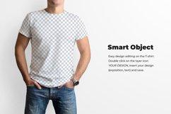 3 Men's T-Shirt Mockup Product Image 3
