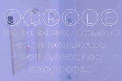 Circle font ttf, otf Product Image 3