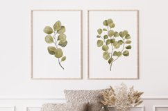 Watercolor Leaves Wall Art, Leaf Wall Print, Plant Wall Art Product Image 2