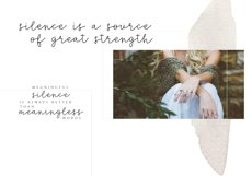 Silence - Delicate Script Font Product Image 2