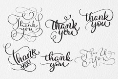 Thank You Calligraphy Lettering Collection Product Image 6