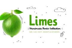 Limes—handmade fontfamily Product Image 1