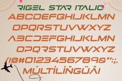 Rigel Star Futuristic Font Product Image 5