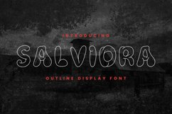 SALVIDRA Font Product Image 1
