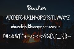 Bonfires & Beaches a Font Duo Product Image 3