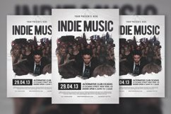 Indie Music Flyer & Poster Product Image 1