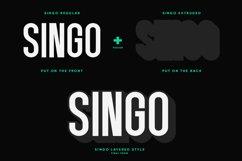 Singo | Sans Display Font Product Image 5
