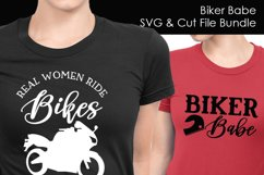 Biker Babe - Motorcycle SVG and Cut Files for Crafters Product Image 3