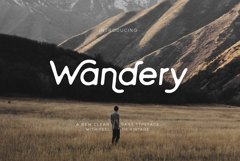 Wandery Modern x Vintage Typeface Product Image 1