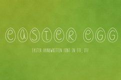 Easter egg font in ttf, otf Product Image 1