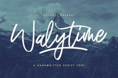 Walytime - Handwritten Font Product Image 1