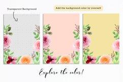 Floral Invitation Backgrounds Product Image 3