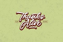 The Woofey Script Typeface Product Image 6