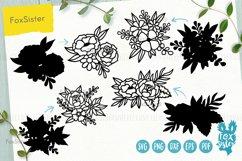 Flowers SVG Bundle, Floral svg Product Image 3