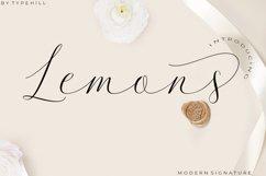 Lemons Font Trio Product Image 1