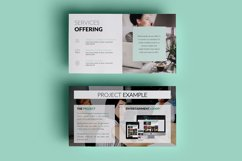 PPT Template | Company Presentation - Green and Marble Product Image 8