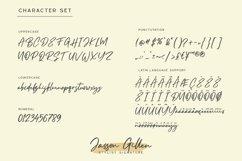 Jasson Gillen- Stylish Signature Font Product Image 2