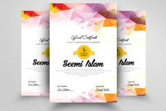 Vertical Certificate Templates Product Image 2