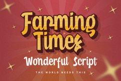 Farming Times - Wonderful Script Product Image 1