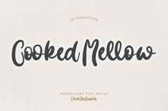 Cooked Mellow - Handwritten Bold Product Image 1