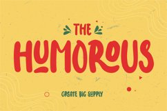 The Humorous - Happy Display Font Product Image 1