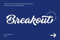 Breakout Script Font Product Image 1