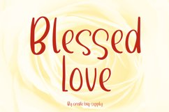 Blessed Love Product Image 1