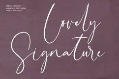 Lovely Signature Product Image 1