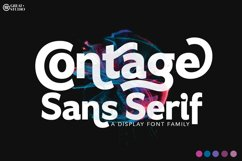 Contage Font Family Product Image 1