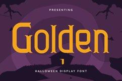 Golden Font Product Image 1
