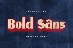 BOLDSANS Font Product Image 1