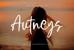 Autneys a Cute Summer Font Product Image 1
