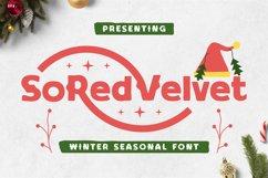 Soredvelvet Font Product Image 1