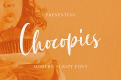 Chocopies Font Product Image 1