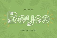 Boyco Font Product Image 1