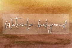 Brown Watercolor digital paper Product Image 1