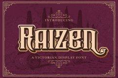 Raizen - Victorian Decorative Font Product Image 1