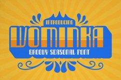 Wominka Font Product Image 1